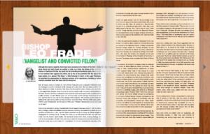 Bishop Leo Frade; Evangelist & Convicted Felon?