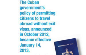 Cuba Changes Exit Visa Policy